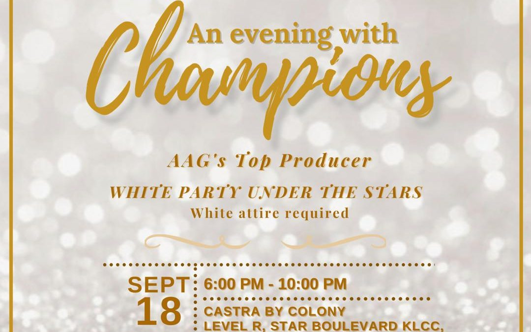 AN EVENING WITH CHAMPIONS 2020
